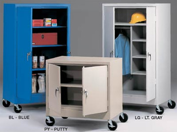 INDUSTRIAL MOBILE STORAGE CABINETS