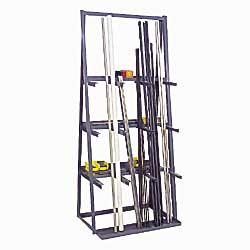 Vertical Bar Storage Rack  sc 1 st  Pallet Racks Storage Racks Industrial Racks - Material Handling ... & Pipe Storage Racks Steel Storage Racks U Racks Bar Storage Racks