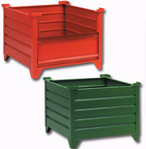steel corrugated containers - Metal Storage Containers