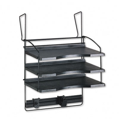 Wonderful Office Cubicle Hanging Shelves. Safco® Design Lines® Triple Tray Panel  Organizer Office Cubicle