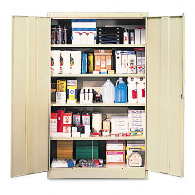 Tennsco 78 High Jumbo Steel Storage Cabinets Replacement Shelves