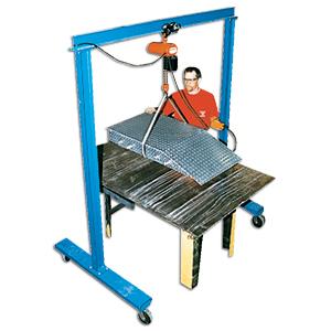 WORK AREA PORTABLE GANTRY CRANES at Material Handling