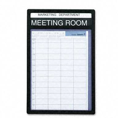 meeting room schedule template