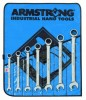 10 Pc. Fractional Geared Combination Wrench Set (Roll)