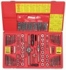 117-Piece Fractional/Metric Tap, Die And Drill Bit Deluxe Set