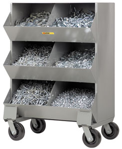 Mobile Storage Bins
